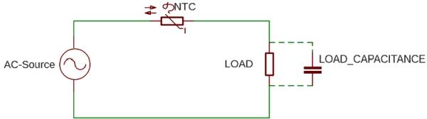 NTC Inrush Current Limiter Circuit