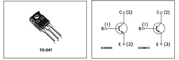 TIP35C Internal Schematic Diagram
