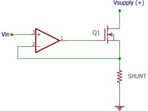 Designing a Voltage Controlled Current Source