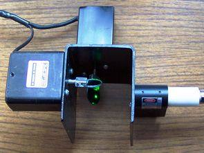 PIC30F2010 DSPIC CONTROLLER 2 AXIS MIDI LASER SHOW
